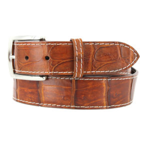 Custom Genuine Leather Cow Hide Leather Belt for Men pictures & photos