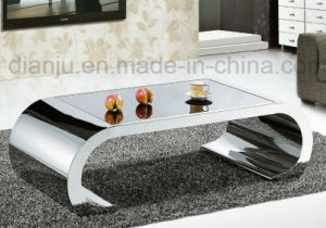 Modern Furniture Stainless Steel Living Room Coffee Table (CT015L) pictures & photos