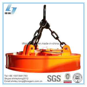 China Leading Manufacturer of Crane Electro Lifting Magnet for Scraps pictures & photos