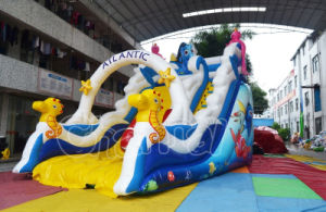 Guangzhou Atlantic Theme Inflatable Dry Slide for Outdoor pictures & photos