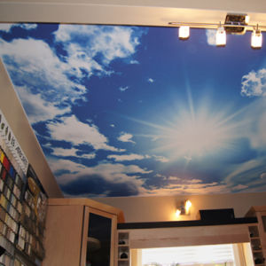 Soft PVC Stretch Ceiling Film for Home Decoration pictures & photos