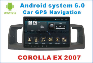 New Ui Android 6.0 Car Navigation for Corolla Ex 2007 with Car Player