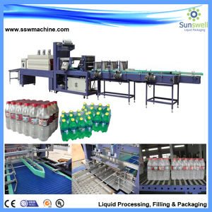Full Automatic Pet Sleeve Label Shrink Machine pictures & photos