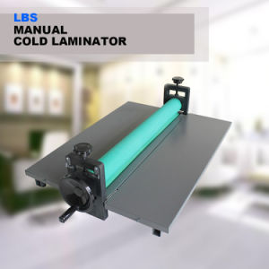 "LBS 650mm 25.5"" Manual Cold Roll Laminating Machine pictures & photos"