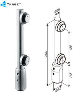 Office Glass Fittings System (OF-C-3) Lower Pivot pictures & photos