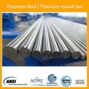 ASTM F67 Dia16X L Grade2 Polished and Annealed Titanium Bars pictures & photos