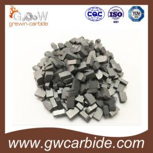 Size K20 Yg6 Tungsten Carbide Brazed Tips pictures & photos