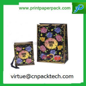 High Quanlity Custom Printing Logo Rigid Paper Bags pictures & photos