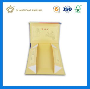 High Quality Foldable Flat Magnetic Paper Packaging Boxes (with UV Printing) pictures & photos