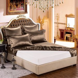 Thxsilk Solid Color 100% Silk Bed Sheets for Women pictures & photos