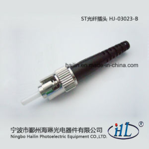 St 3.0mm Fiber Optic Connector with Ferrule pictures & photos