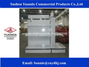 Flat Panel Supermarket Display Rack/Shelf/Gondola Supplier pictures & photos