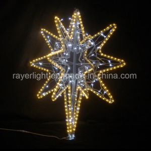 Outdoor Topper Decoration LED North Star for Christmas pictures & photos