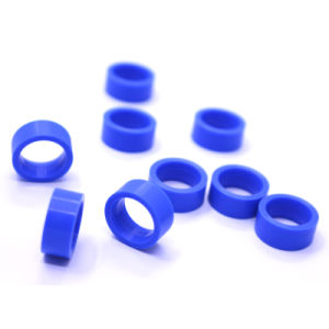 Round Flat NBR EPDM Viton FKM Ffkm Silicone Rubber Washer/Rubber Gasket pictures & photos