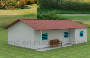 Prefabricated Low Cost Steel Structure Frame Garden Shed pictures & photos
