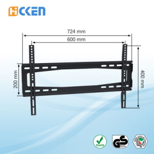High Quality Fixed TV Wall Bracket for 37-70 Inch Screen pictures & photos