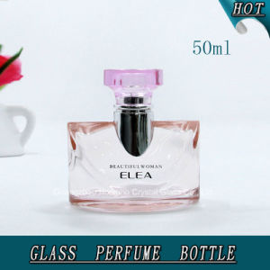 Pink Colored Perfume Glass Spray Bottle for Lady 50ml pictures & photos