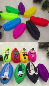 Lamzac Hangout Kaisr Inflated Sleeping Bag Air Lounge Beach Bed Sleeping Bed Lamzac Hangout pictures & photos