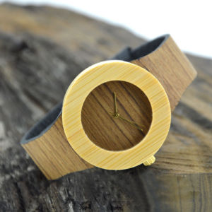 Luxurious Nobility Wood Grain Wooden Watch pictures & photos
