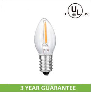C7 LED Candle Bulb with Ce UL