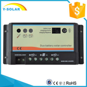 Epsolar 10A 20A 12V/24V Charger Controller/Regulator Duo-Battery Charger dB-10A pictures & photos