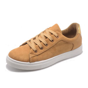 2017 Fashion Suede Basic Classical Leisure Women Rubber Injection Shoes pictures & photos