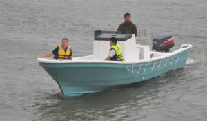 Liya Fiberglass Diesel Fishing Boat Motor Boat Fiberglass Boat for Fishing pictures & photos