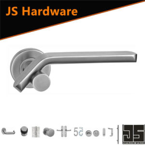 304 Stainless Steel Casting High Lever Type Door Handles pictures & photos