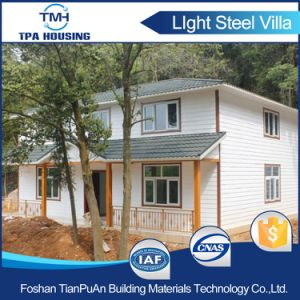 Two Story Prefab House for Portable Housing Kits pictures & photos