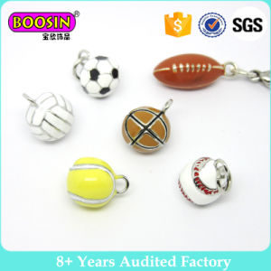 Fashion Charm Jewelry Enamel Sport Baseball Basketball Football Charms Pendants Wholesale pictures & photos