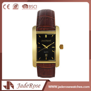 Factory Simple Leather Watch for Girls pictures & photos
