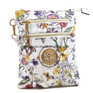 Designer Printing PU Leather Crossbody Bag Women Messenger Bag pictures & photos