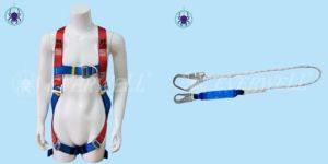 Safety Harness with Three-Point Fixed Mode (EW0313H) -Set4