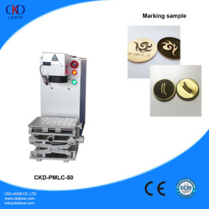 50W Q Switched Fiber Laser Etching Machine for Engraving Metal pictures & photos