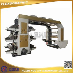 6 Color Flexographic Printing Machine for Paper with Anilox Roller pictures & photos