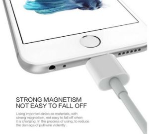 Magnetic USB Charger Cable 1m Data Line with a Magnetic Plug Snap Cable Set for iPhone 6 Plus /6s 7 Plus for Android pictures & photos