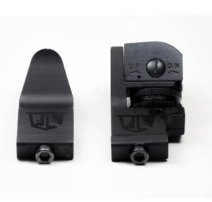 45 Degree Offset Backup Iron Sights for Ar15 Rifles Picatinny Mount pictures & photos