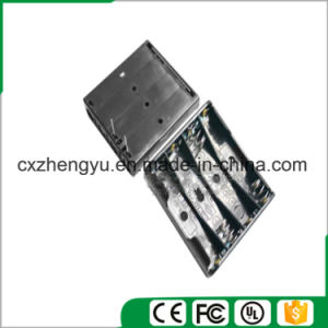 4AAA Battery Holder with Contact Pin pictures & photos