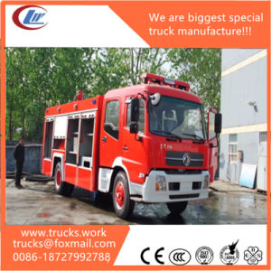 Dongfeng Tianjin 4X2 6000L Foam Tank Fire Fighting Truck Vehicle pictures & photos