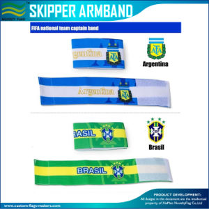 Adjustable Elastic Armband Football Captain Armband (M-NF29F14035) pictures & photos