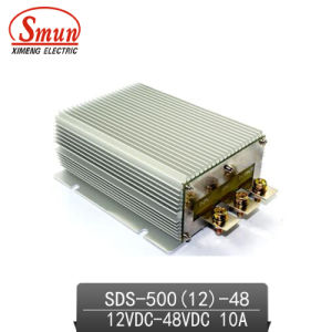 12V-48VDC 10A DC-DC Converter Car Power Supply with Ce RoHS pictures & photos