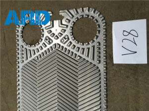 Vicarb Plate Heat Exchanger Plate V4 V60 V28 Titanium C2000 AISI304 AISI316 pictures & photos