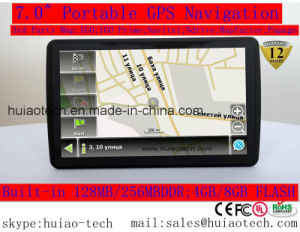 "Hot Sale Cheap 7.0"" Car GPS Navigator Truck GPS Navigation Sat Nav with 66 Channels GPS Nav Receiver, Bluetooth, AV-in; FM Transmitter; Parking Camera; GPS Map pictures & photos"