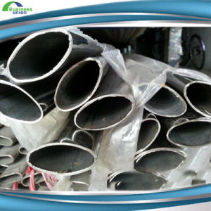 ERW Galvanized Annealing Weled Special Section Oval Pipe