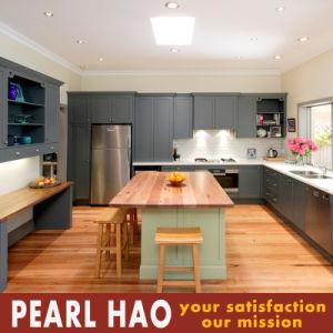 Modern Design MDF Solid Wood Kitchen Cabinet Cupboard pictures & photos