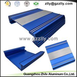 Blue Color Car Casting Aluminum Profile Heatsinks pictures & photos