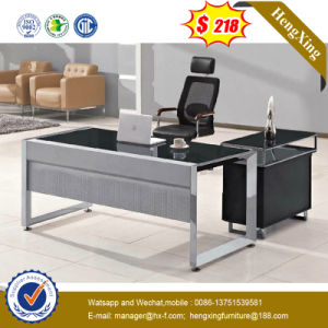 Mixed Color Smooth Desktop Glass Executive Office Desk (NS-GD030) pictures & photos