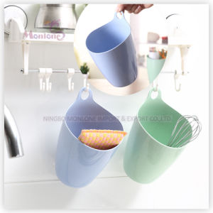 Colorful Multi-Function Eco-Friendly Wheat Fiber Storage Basket Bin pictures & photos