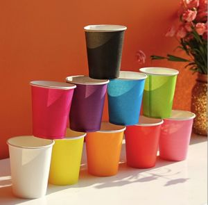 Disposable Colorful Hot Water Cup pictures & photos