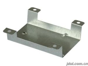 Electroplating Metal Stamping Angle Brackets pictures & photos